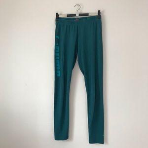 Puma forest green leggings